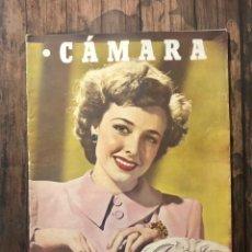 Cine: REVISTA CAMARA, NUMERO 85, JULIO DE 1946, ( TALLERES RIVADENEYRA ). Lote 243103550