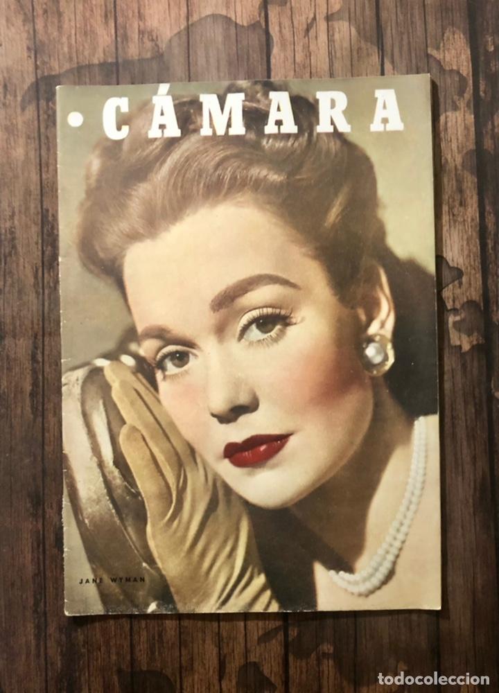 REVISTA CAMARA, NUMERO 115, OCTUBRE DE 1947, ( TALLERES RIVADENEYRA ) (Cine - Revistas - Cámara)
