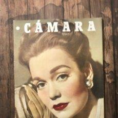 Cine: REVISTA CAMARA, NUMERO 115, OCTUBRE DE 1947, ( TALLERES RIVADENEYRA ). Lote 243103600