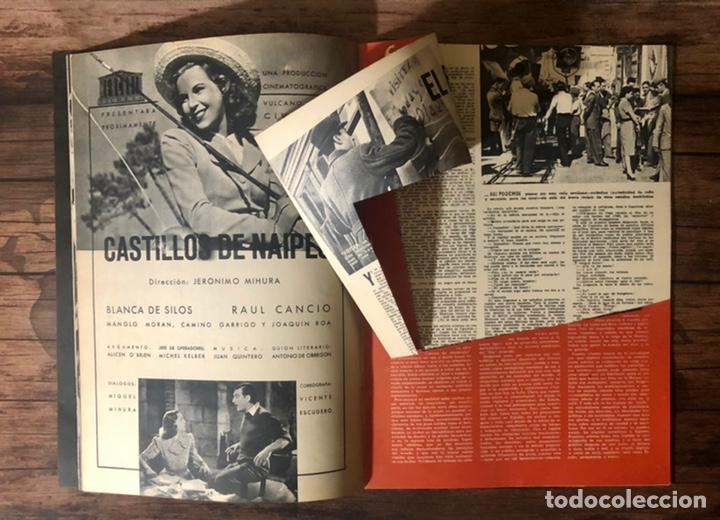 Cine: REVISTA CAMARA, NUMERO 19, ABRIL DE 1943, ( TALLERES RIVADENEYRA ) - Foto 4 - 243103610