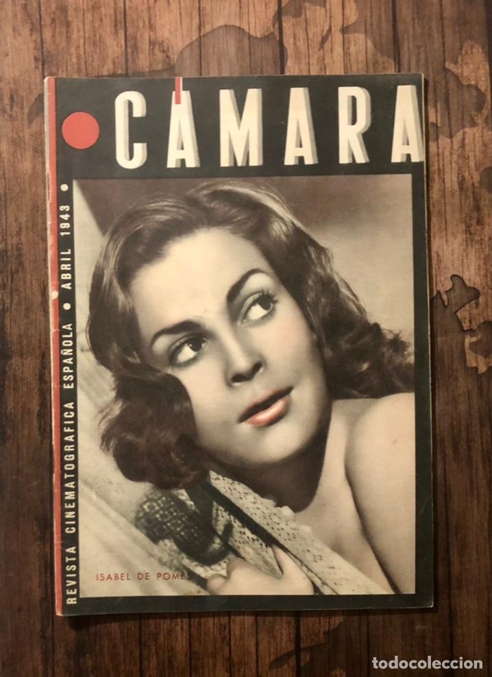 REVISTA CAMARA, NUMERO 19, ABRIL DE 1943, ( TALLERES RIVADENEYRA ) (Cine - Revistas - Cámara)