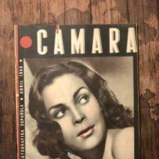 Cine: REVISTA CAMARA, NUMERO 19, ABRIL DE 1943, ( TALLERES RIVADENEYRA ). Lote 243103610