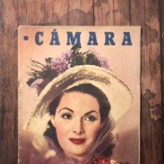 Cine: REVISTA CAMARA, NUMERO 147, FEBRERO DE 1949, ( TALLERES RIVADENEYRA ). Lote 243103630