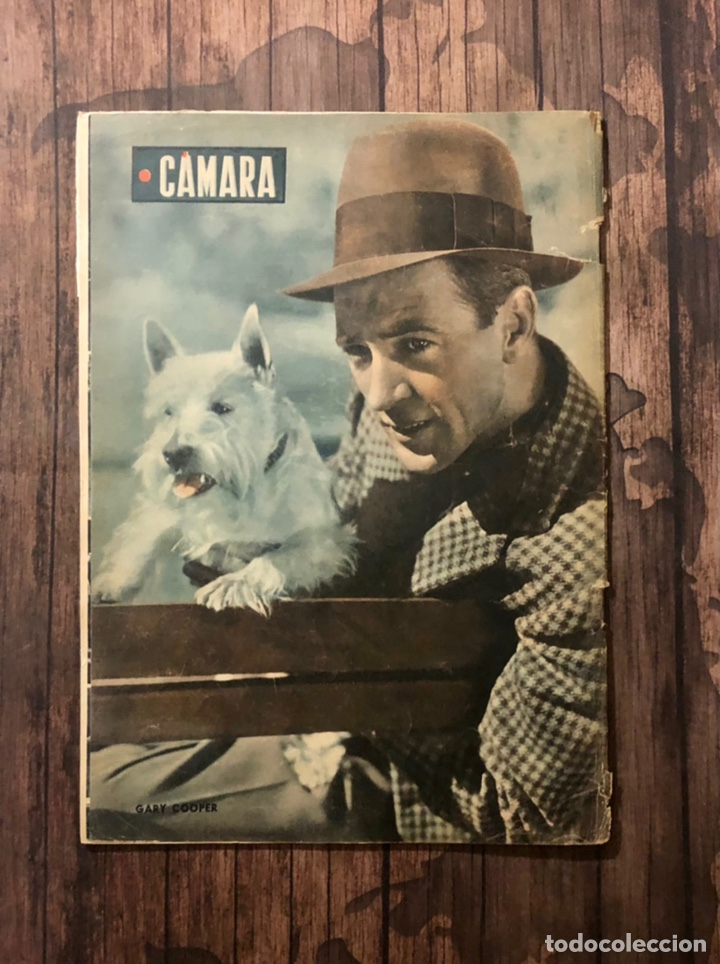 Cine: REVISTA CAMARA, NUMERO 6, MARZO DE 1942, ( TALLERES RIVADENEYRA ) - Foto 3 - 243103655