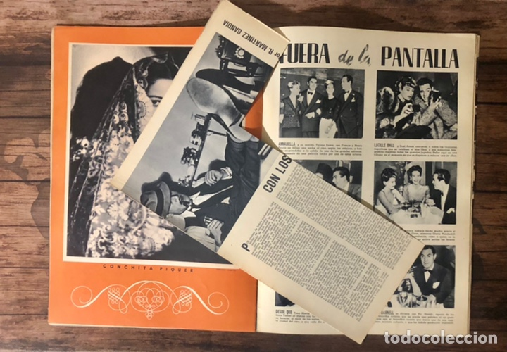 Cine: REVISTA CAMARA, NUMERO 6, MARZO DE 1942, ( TALLERES RIVADENEYRA ) - Foto 4 - 243103655