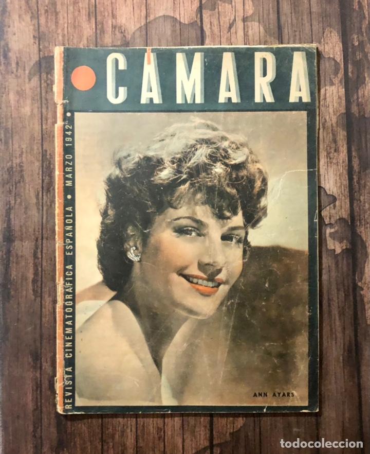 REVISTA CAMARA, NUMERO 6, MARZO DE 1942, ( TALLERES RIVADENEYRA ) (Cine - Revistas - Cámara)