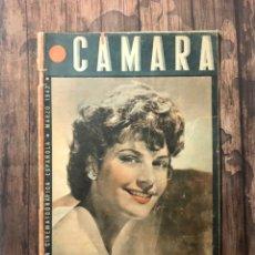 Cine: REVISTA CAMARA, NUMERO 6, MARZO DE 1942, ( TALLERES RIVADENEYRA ). Lote 243103655