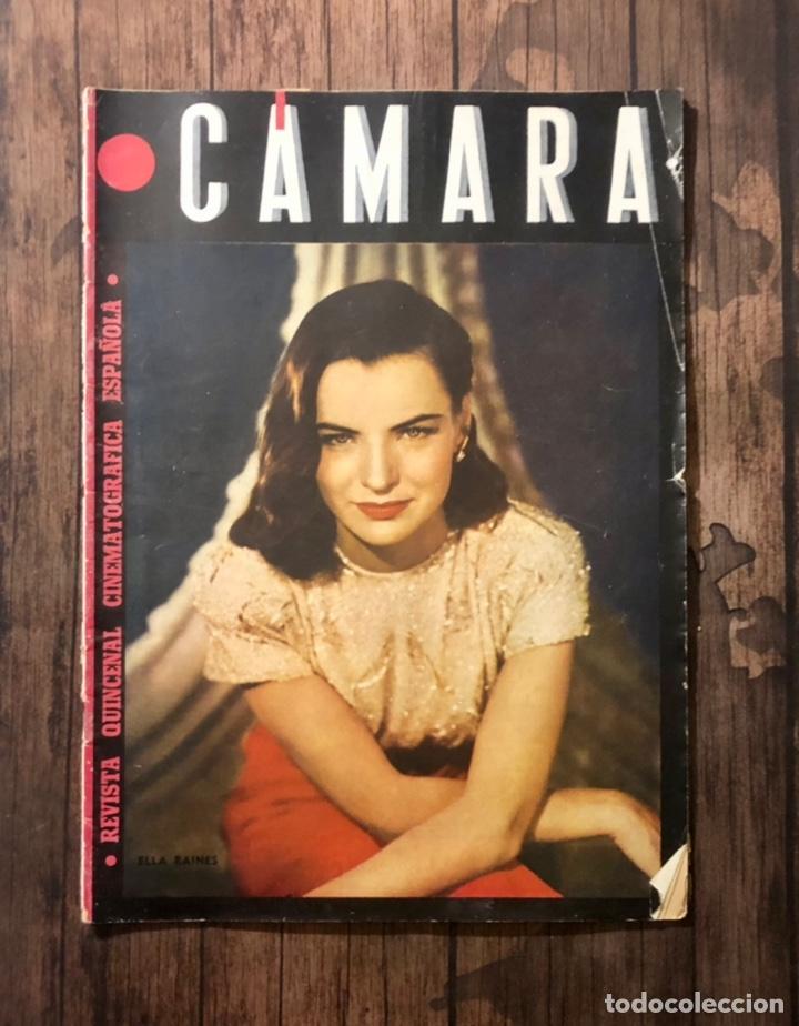 REVISTA CAMARA, NUMERO 49, ENERO DE 1945, ( TALLERES RIVADENEYRA ) (Cine - Revistas - Cámara)