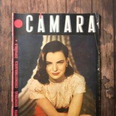 Cine: REVISTA CAMARA, NUMERO 49, ENERO DE 1945, ( TALLERES RIVADENEYRA ). Lote 243103675