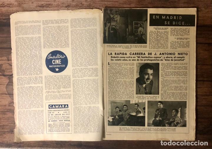 Cine: REVISTA CAMARA, NUMERO 157, JULIO DE 1949, ( TALLERES RIVADENEYRA ) - Foto 2 - 243103715