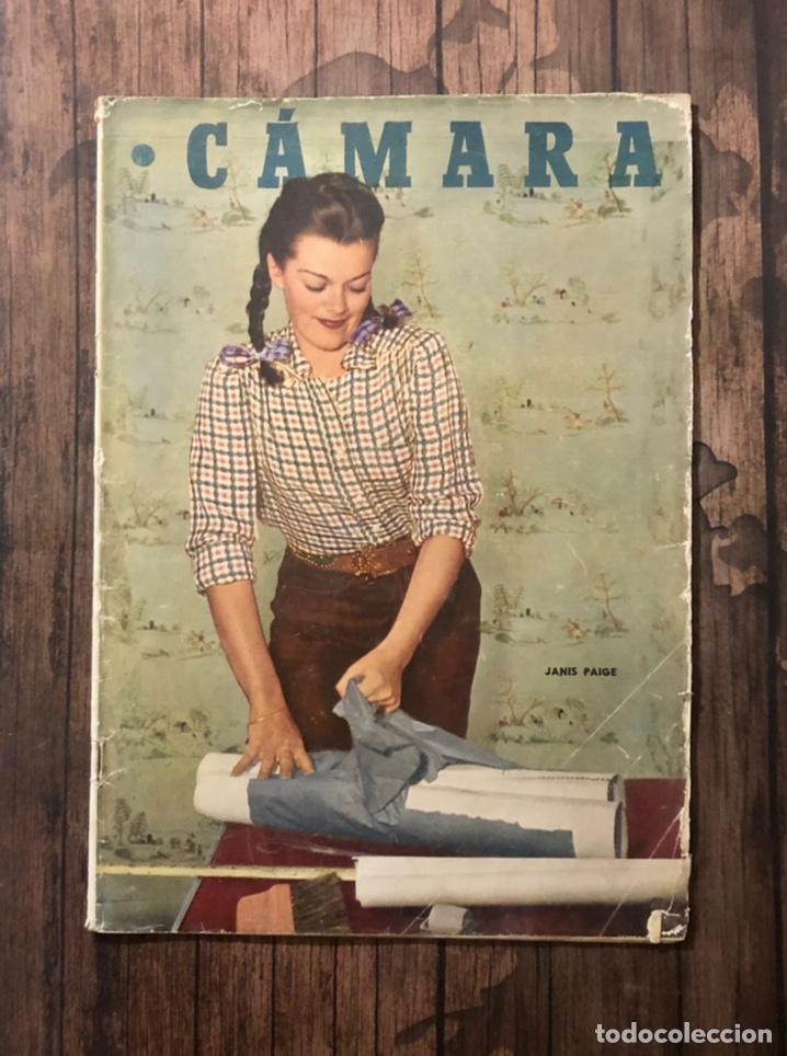 REVISTA CAMARA, NUMERO 157, JULIO DE 1949, ( TALLERES RIVADENEYRA ) (Cine - Revistas - Cámara)
