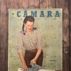 Cine: REVISTA CAMARA, NUMERO 157, JULIO DE 1949, ( TALLERES RIVADENEYRA ). Lote 243103715