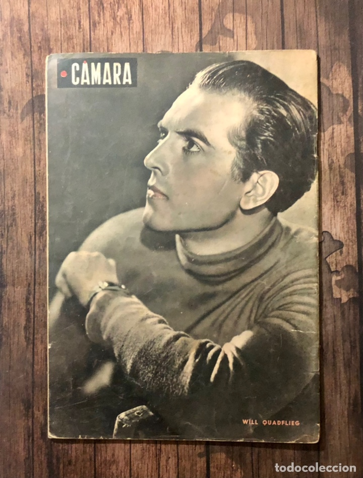 Cine: REVISTA CAMARA, NUMERO 12, SEPTIEMBRE DE 1942, ( TALLERES RIVADENEYRA ) - Foto 3 - 243103800