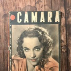 Cine: REVISTA CAMARA, NUMERO 12, SEPTIEMBRE DE 1942, ( TALLERES RIVADENEYRA ). Lote 243103800