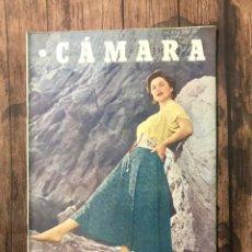 Cine: REVISTA CAMARA, NUMERO 199, SEPTIEMBRE DE 1951, ( TALLERES RIVADENEYRA ). Lote 243103820