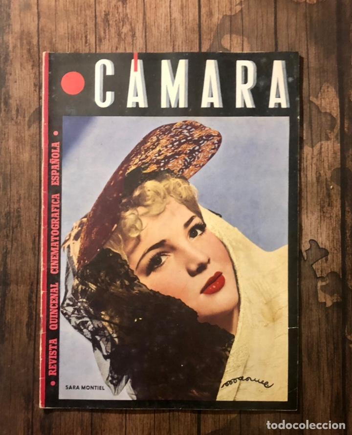 REVISTA CAMARA, NUMERO 60, JULIO DE 1945, ( TALLERES RIVADENEYRA ) (Cine - Revistas - Cámara)