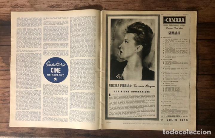 Cine: REVISTA CAMARA, NUMERO 84, JULIO DE 1946, ( TALLERES RIVADENEYRA ) - Foto 2 - 243103880