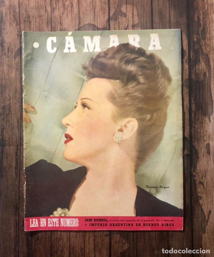 REVISTA CAMARA, NUMERO 84, JULIO DE 1946, ( TALLERES RIVADENEYRA ) (Cine - Revistas - Cámara)