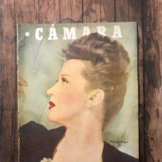 Cine: REVISTA CAMARA, NUMERO 84, JULIO DE 1946, ( TALLERES RIVADENEYRA ). Lote 243103880