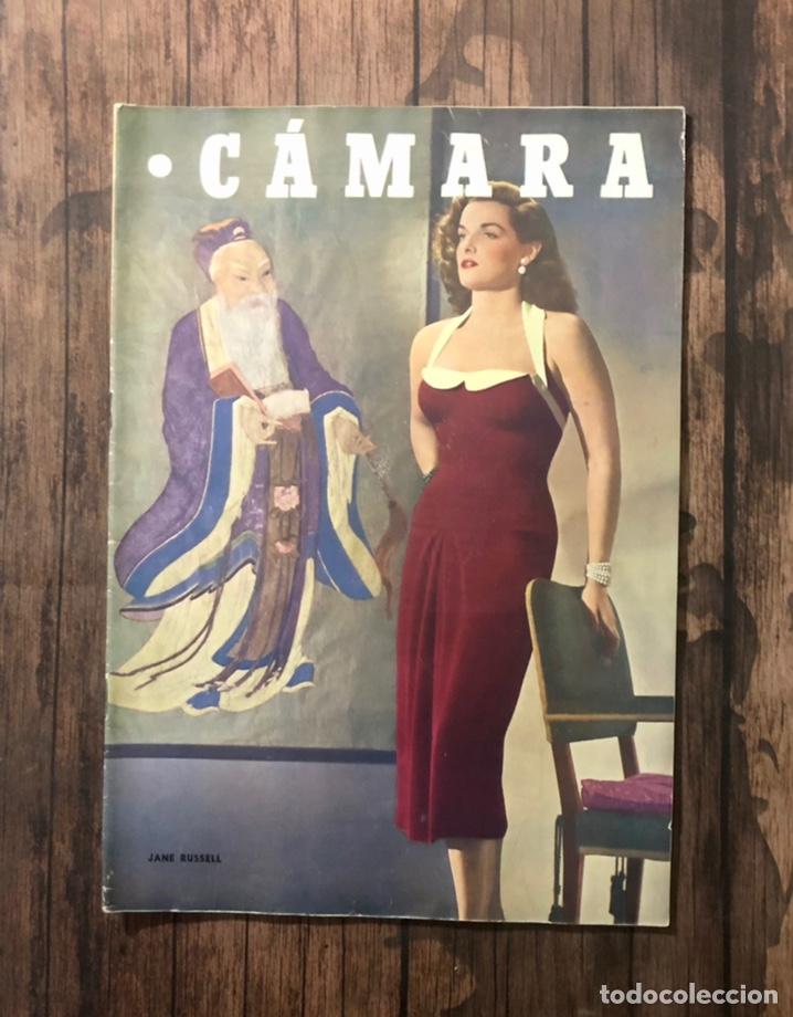 REVISTA CAMARA, NUMERO 206, AGOSTO DE 1951, ( TALLERES RIVADENEYRA ) (Cine - Revistas - Cámara)