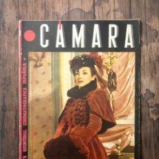Cine: REVISTA CAMARA, NUMERO 38, AGOSTO DE 1944, ( TALLERES RIVADENEYRA ). Lote 243103910
