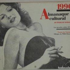 Cine: ALMANAQUE CULTURAL 1990 CIRCULO LECTORES - TEXTOS TERENCI MOIX - LOS GRANDES MITOS DEL CINE. Lote 243837565