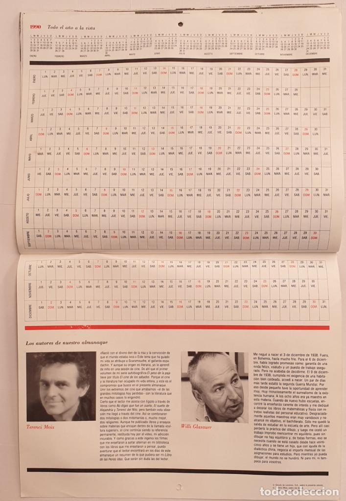 Cine: Almanaque Cultural 1990 Circulo Lectores - Textos Terenci Moix - Los Grandes mitos del Cine - Foto 9 - 243837565