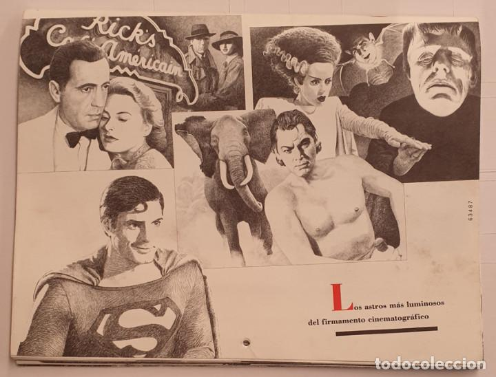Cine: Almanaque Cultural 1990 Circulo Lectores - Textos Terenci Moix - Los Grandes mitos del Cine - Foto 10 - 243837565