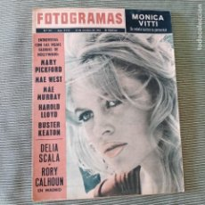 Cine: FOTOGRAMAS: NUMERO 777 - 18 OCTUBRE 1963 / BRIGITTE BARDOT. Lote 243843420