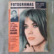 Cine: FOTOGRAMAS: NUMERO 843 - 11 DICIEMBRE 1964 / CATHERINE DENEUVE. Lote 243844240