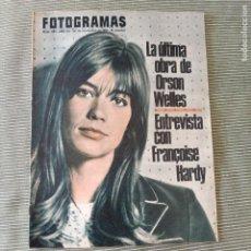 Cine: FOTOGRAMAS: NUMERO 893 - 26 NOVIEMBRE 1965 / FRANCOISE HARDY. Lote 243847085