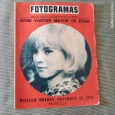 Cine: FOTOGRAMAS: NUMERO 879 - 20 AGOSTO 1965 /SYVIE VARTAN. Lote 243847715