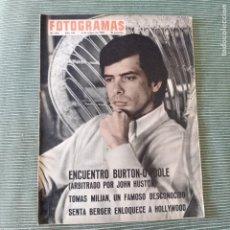 Cine: FOTOGRAMAS: NUMERO 916 - 6 MAYO 1966 / TOMAS MILIAN. Lote 243851985