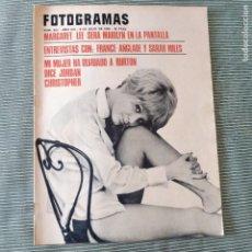 Cine: FOTOGRAMAS: NUMERO 925 - 8 JULIO 1966 / FRANCE ANGLADE. Lote 243852610