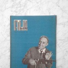 Cine: FILM IDEAL - Nº 40 - 1960 - ALEC GUINNES, CARLOS BLANCO, CINE ESPAÑOL, CARLOS SAURA. Lote 243869900
