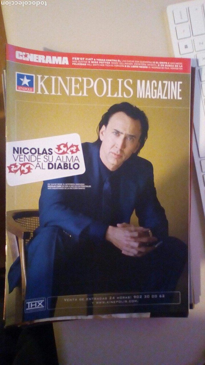 REVISTA KINEPOLIS. NICOLAS CAGE, GHOST RIDER, (Cine - Revistas - Otros)