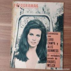 Cinema: FOTOGRAMAS: NUMERO 942 - 4 NOVIEMBRE 1966 / RAQUEL WELCH. Lote 243974195
