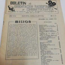 Cine: BOLETÍN DE ORIENTACIÓN RADIOFÓNICA Y CINEMATOGRÁFICA. AÑOS 50.. Lote 243985810