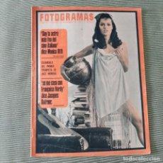 Cine: FOTOGRAMAS: NUMERO 997 - 24 NOVIEMBRE 1967 / CARLA MARLIER. Lote 244000120