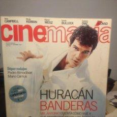 Cine: CINEMANIA ( REVISTA DE CINE ) ANTONIO BANDERAS + CAMERON DIAZ + PULP FICTION + TODO SOBRE MI MADRE. Lote 244015745