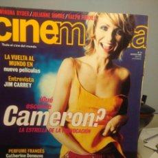 Cine: CINEMANIA ( REVISTA DE CINE ) CAMERON DIAZ + JIM CARREY + LUIS BUÑUEL. Lote 244016790