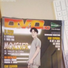 Cine: REVISTA DEVIDEO. MAYO 2007. RUSSELL CROWE, EDWARD NORTON. MONSTER, ANIME JAPONES. Lote 244199885