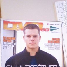 Cine: REVISTA DEVIDEO 75. 2008. MATT DAMON EL ULTIMATUM DE BOURNE. BRUCE WILLIS. Lote 244204220