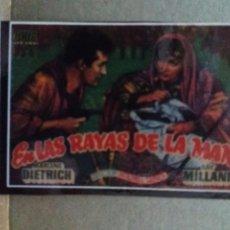 Cine: EN LAS RAYAS DE LA MANO. Lote 244414700