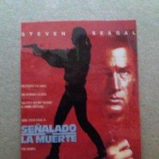 Cine: SEÑALADO POR LA MUERTE. Lote 244419040