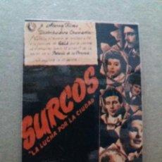 Cine: SURCOS. Lote 244422265