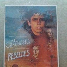 Cine: REBELDES. Lote 244424405