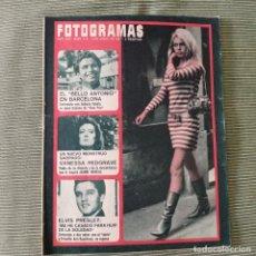 Cinema: FOTOGRAMAS: NUMERO 972 - 2 JUNIO 1967 / BRIGITTE BARDOT. Lote 244527115