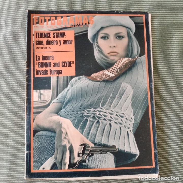 FOTOGRAMAS: NUMERO 1009 - 16 FEBRERO 1968 / FAYE DUNAWAY (Cine - Revistas - Fotogramas)