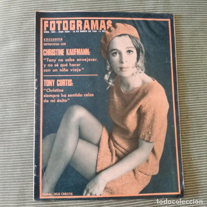 FOTOGRAMAS: NUMERO 1004 - 12 ENERO 1968 / JULIE CHRISTEI (Cine - Revistas - Fotogramas)